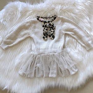 Nannette Baby Sweater Dress 18M